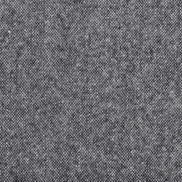 Massimo **Made in Italy**, Tweed, Salz und Pfeffer, schwarz