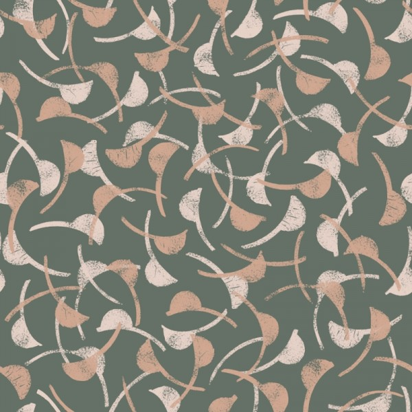 Eco Vero Viscose Windy Cedar Fabric