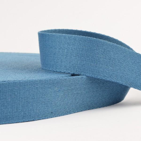 Gurtband - uni jeansblau
