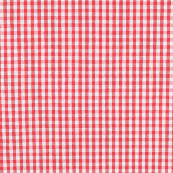 Vichy baumwolle rot weiß, öko-tex standard 100