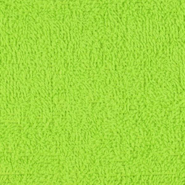 Frottee uni grün