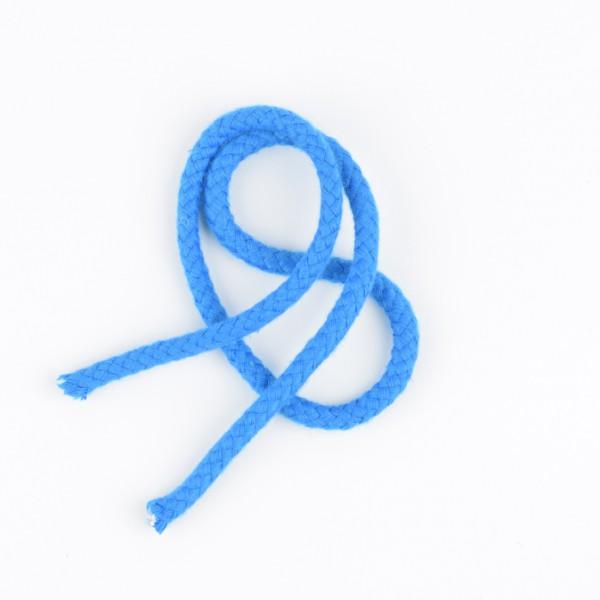 Baumwollkordel 5mm blau