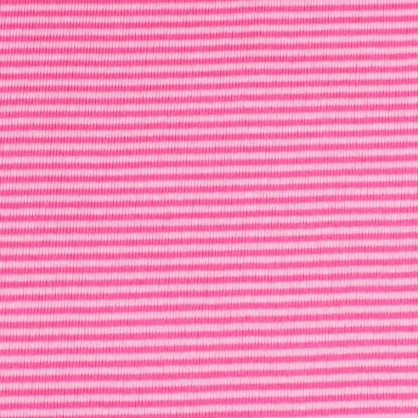 Bündchenware ringel rosa/pink , Öko Tex Standard 100
