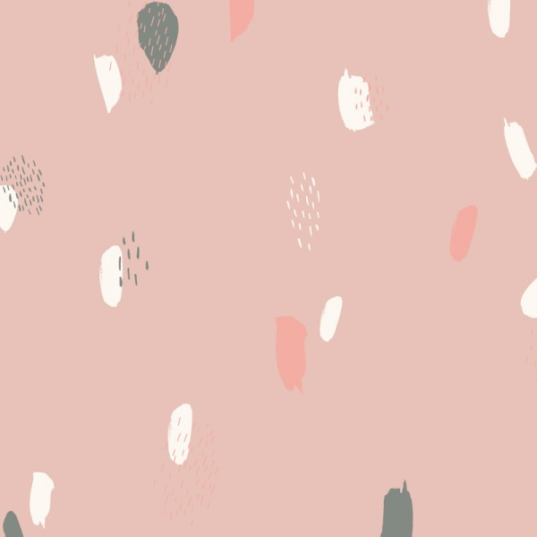 "Atelier Brunette Viscose Tissu ""Moonstone Pink"" ABC13"
