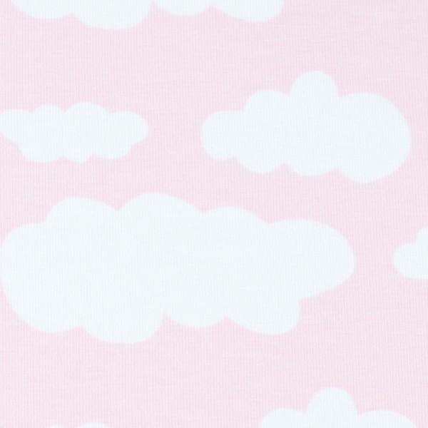 Jersey Wolken rosa, Öko Tex Standard 100