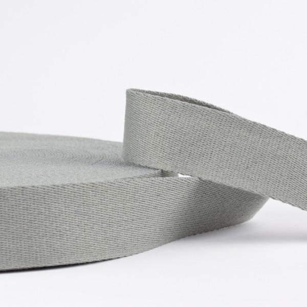 Gurtband - uni hellgrau