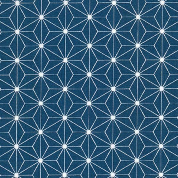 Westfalenstoffe Druckstoff Kopenhagen Sterne blau