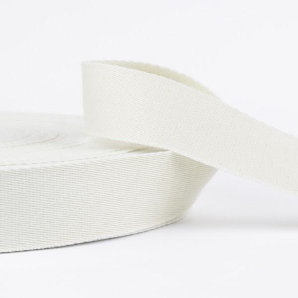 Gurtband - uni weiß