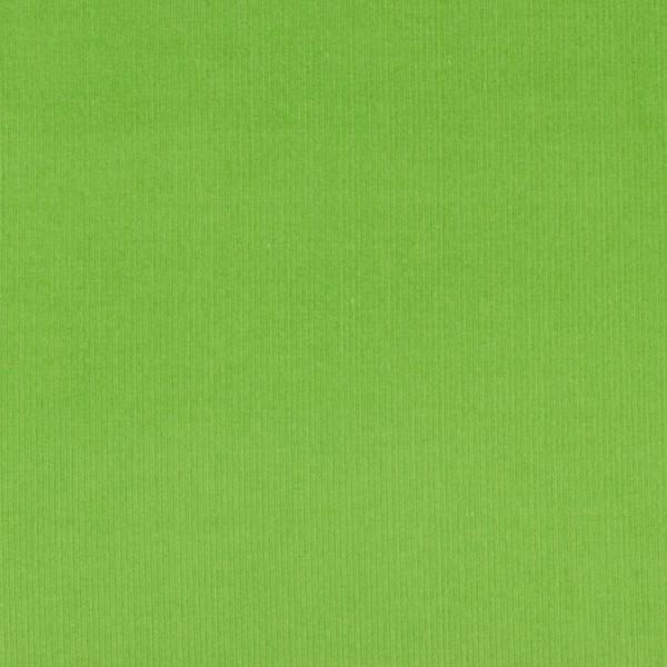 Cord uni grün öko tex standart 100