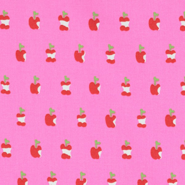 Alexander Henry apple a day rosa/pink