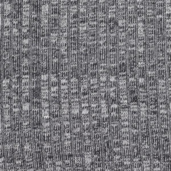 Lillestoff Rippstrick grau-meliert