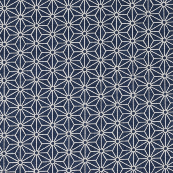 Sevenberry Asanoha klein dunkelblau