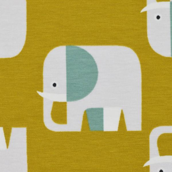 Biojersey Elefant senf
