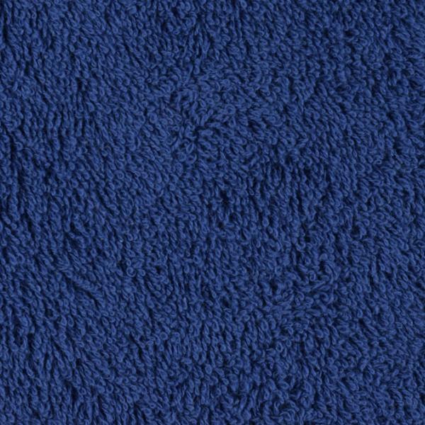 Frottee uni blau