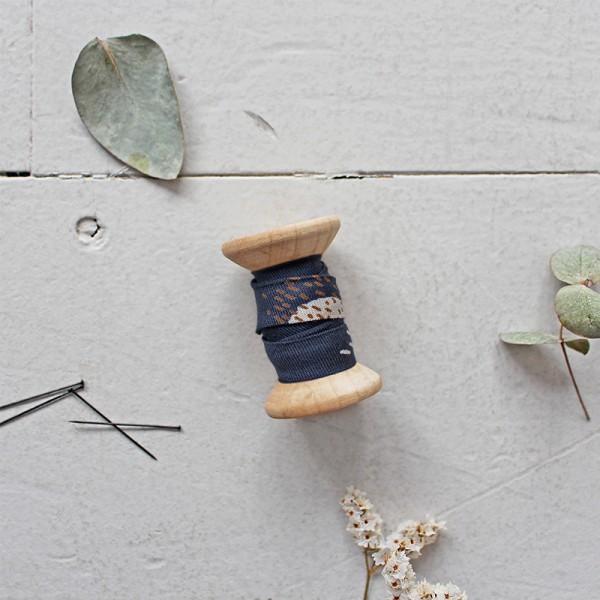 Schrägband Atelier Brunette BIAS - Moonstone blue