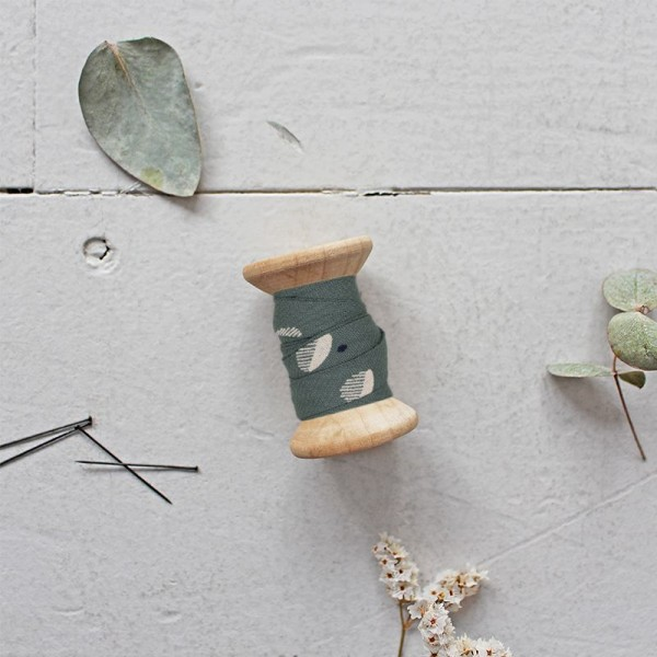 Schrägband Eco Vero Viscose Seed Cedar Fabric