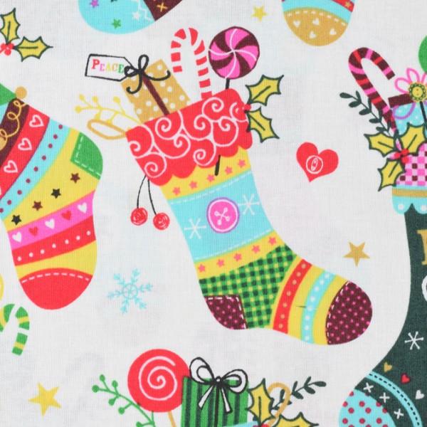 Weihnachststoff Nikolausschuh