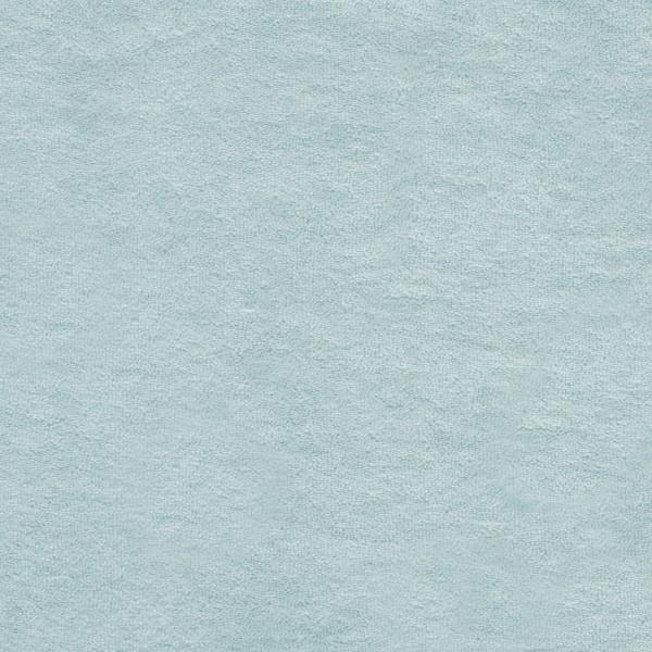 Strickfrottee Stoff - uni - cloud blue