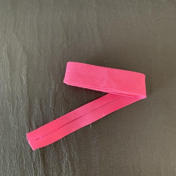 Schrägband uni pink