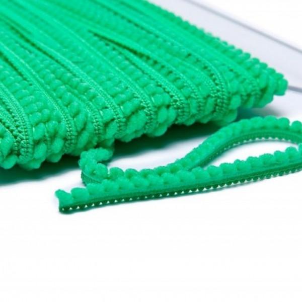 Pomponborte mikro online günstig kaufen grün