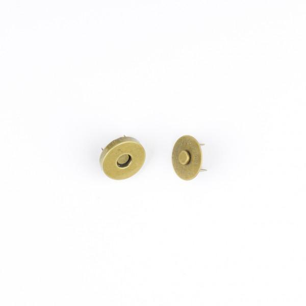 Magnetverschluss 18mm altmessing