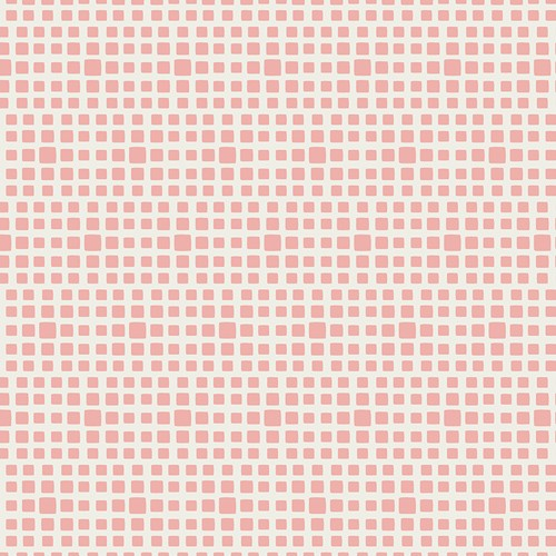 Baumwolle Squared Elements - Rosewater