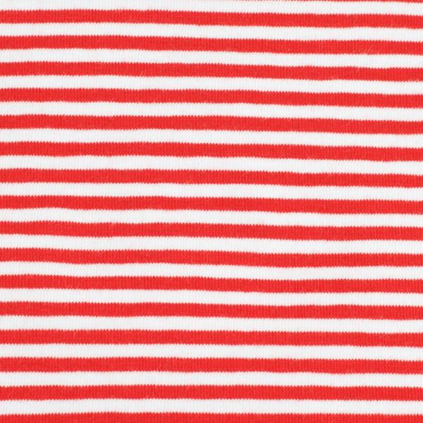 Jersey streifen rot/weiß, Öko Tex Standard 100