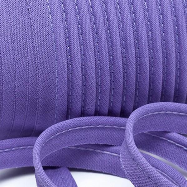 Paspelband uni - violett