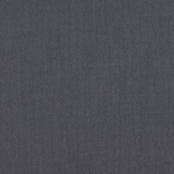 Musselin uni jeans - Windelstoff