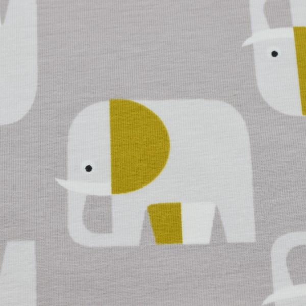 Biojersey Elefant grau