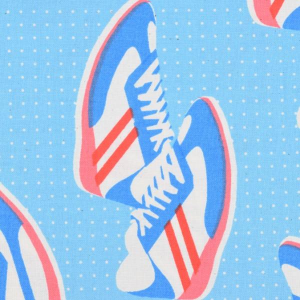 Cotton and Steel - kicks - Melody Miller, retro Turnschuhe, Schuhe, socken