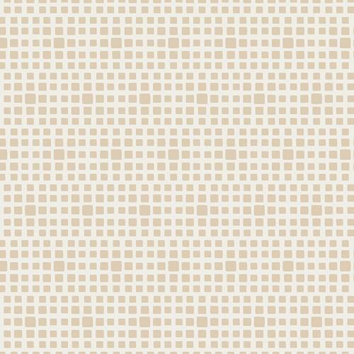 Baumwolle Squared Elements - Almondette
