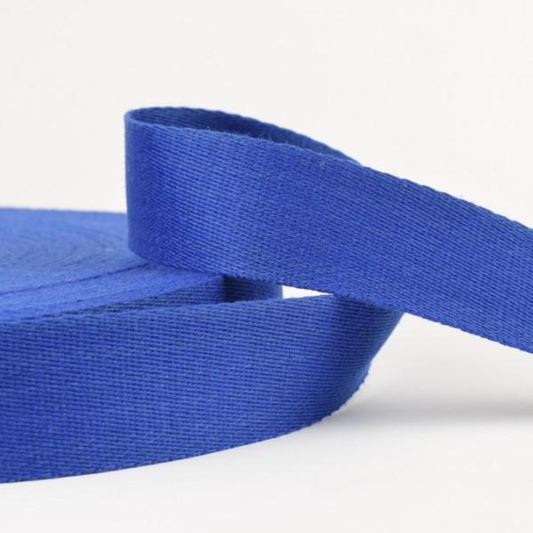 Gurtband - uni blau