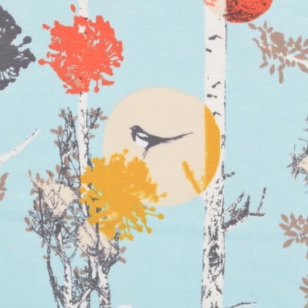 Jersey Art Gallery Birke mit Vogel