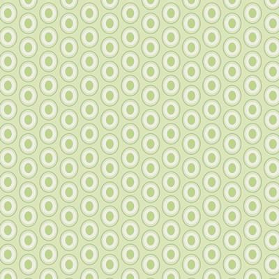 Baumwolle Oval Elements - Sugar Green