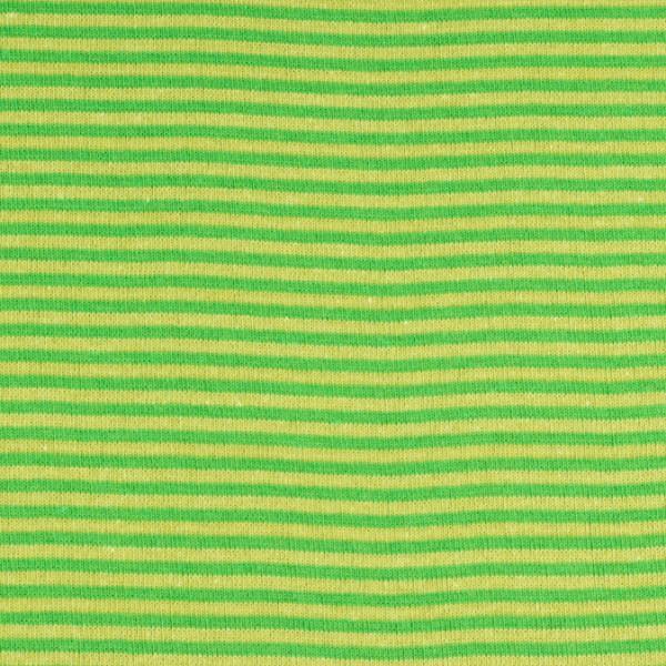 Bündchenware ringel hellgrün/grün , Öko Tex Standard 100