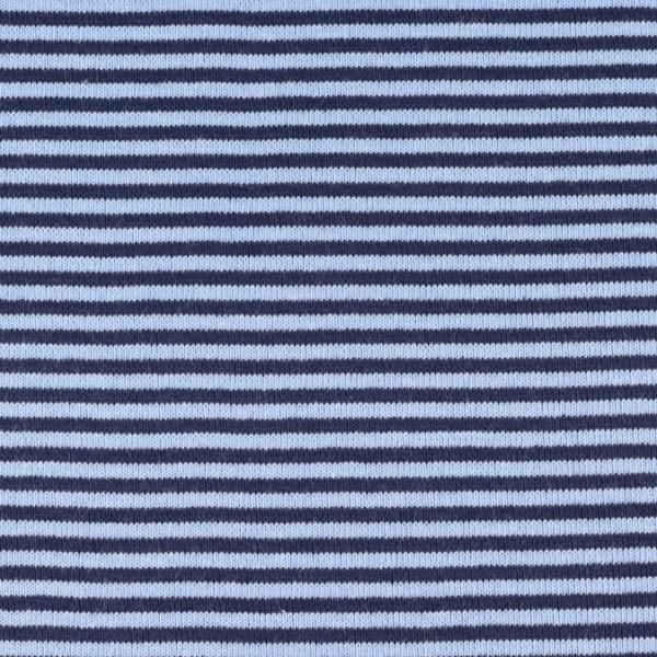 Bündchenware marine/hellblau