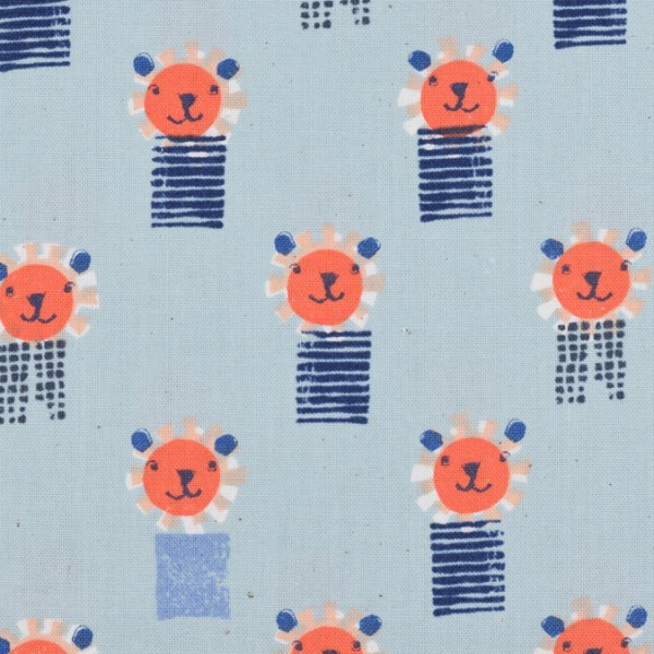 Cotton and Steel - Sunshine - Lions Blue