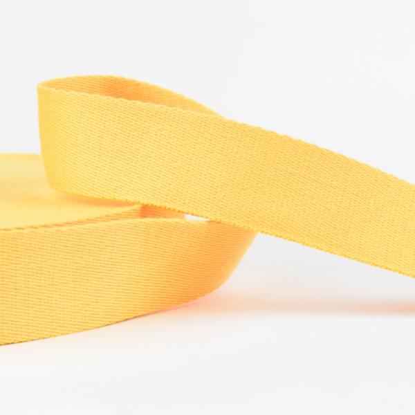 Gurtband - uni gelb