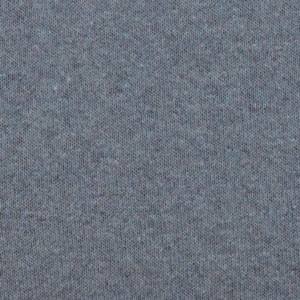 Strickstoff Bene angeraut **made in Italy** rauchblau
