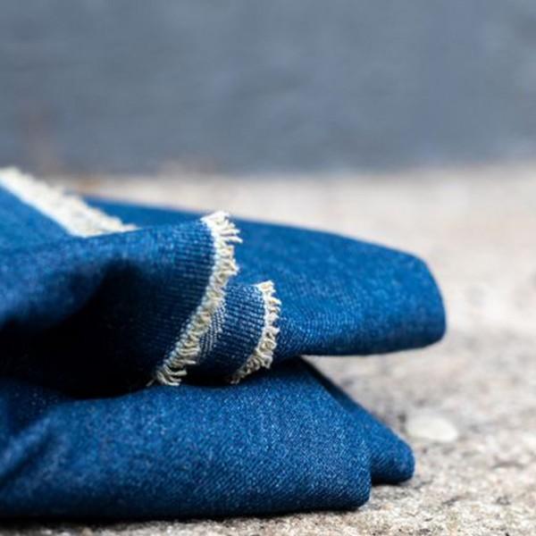 Washed Denim 10 oz - Dark Blue