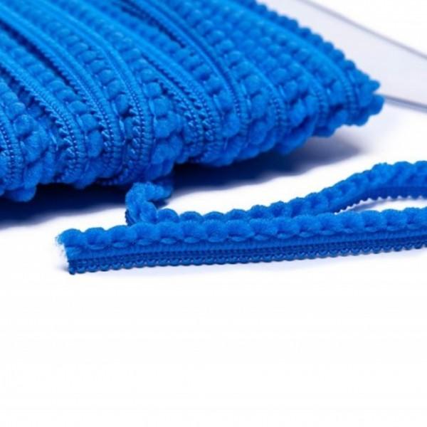 Pomponborte mikro online günstig kaufen blau