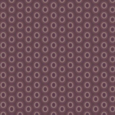 Baumwolle Oval Elements - Prune Brown