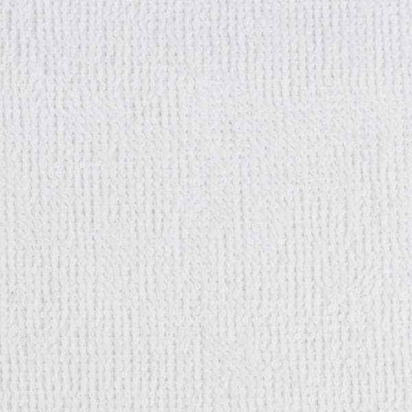 Frottee uni weiß