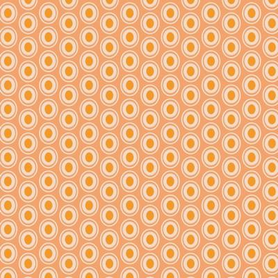 Baumwolle Oval Elements - Peaches'n Cream
