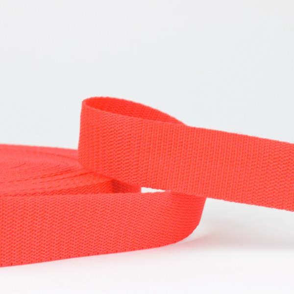 Polyester Gurtband - rot 30mm