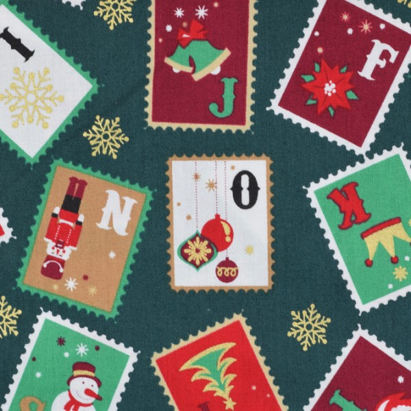 Weihnachststoff Briefmarken