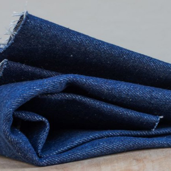 Heavy Washed Denim 12.5 oz - Dark Blue