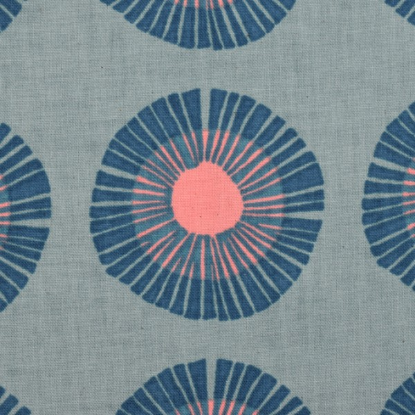 Cotton and Steel - Imagine Landscapes - Seaside Daisy Slate