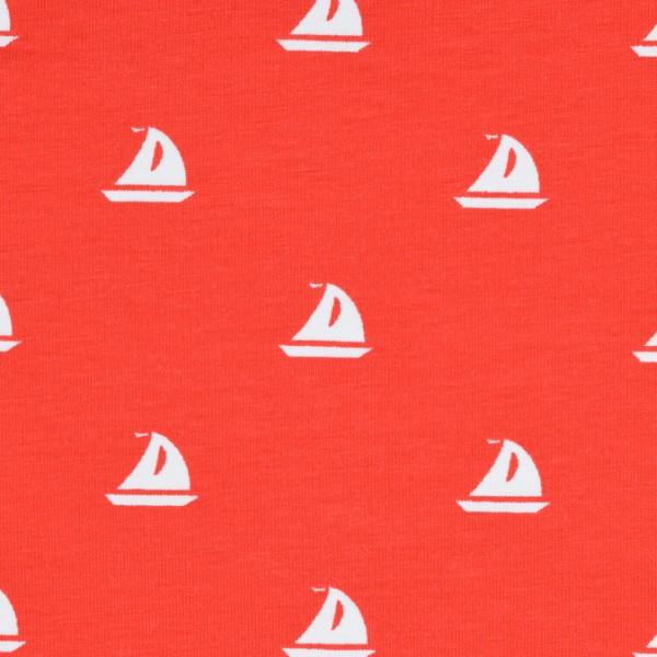 Biojersey Segelboot rot